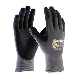 MaxiFlex® Ultimate� Seamless Knit Nylon / Elastane Glove with Nitrile Coated MicroFoam Grip on Palm & Fingers - Touchscreen Compatible