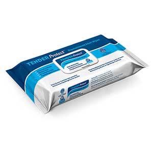 TENDERProtect® Premoistened Adult Wipes, 9